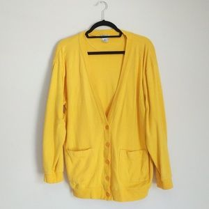 """Say """"Yellow"""" to Your New Cardigan"""